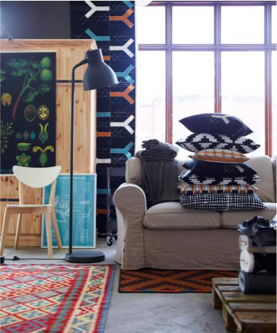 Hektar Floor Lamp Dark Grey Conner Furniture House