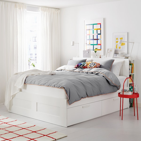 Brimnes Bed Frame With Storage And, Ikea Bed Frame With Storage Brimnes