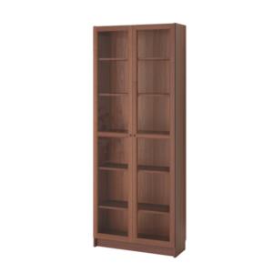 BILLY / OXBERG Bookcase (Brown Ash Veneer)