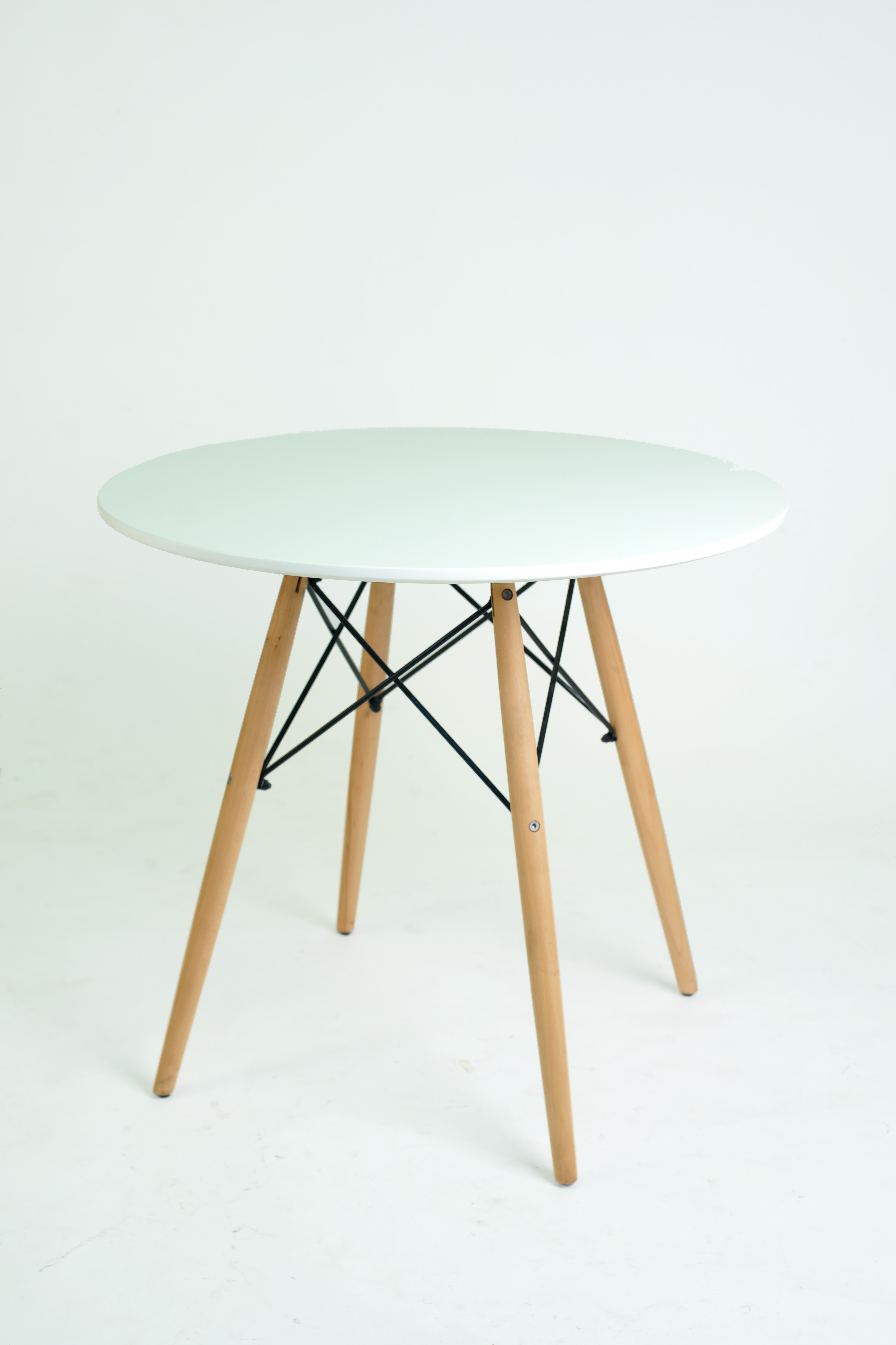 Charles Dining Table 60 Cm White Conner Furniture House