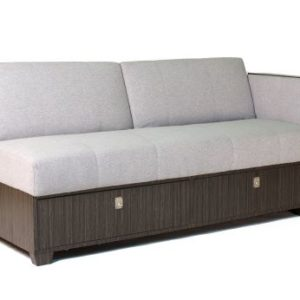 REICH Sofa Bed with Ottoman and 2 Storage Boxes