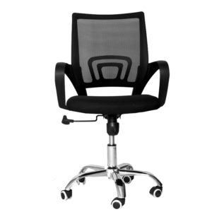 OFFICE Chair MCH13CC1 Chrome Frame (Black)