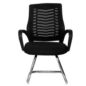 OFFICE Chair MCH19CC2 Chrome Frame (Black)