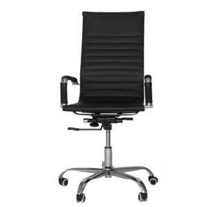OFFICE Chair MCH15CC3 Chrome Frame (Black)