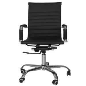 OFFICE Chair MCH15CC4 Chrome Frame (Black)