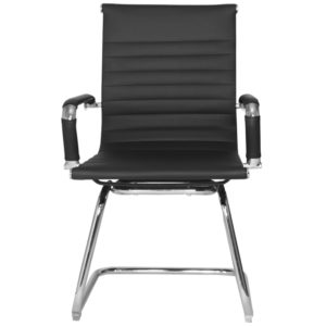 OFFICE Chair MCH19CC6 Chrome Frame (Black)
