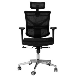 OFFICE Chair MCH19CC8 Chrome Frame (Black)