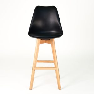 STEPHEN Bar Stool (Black)