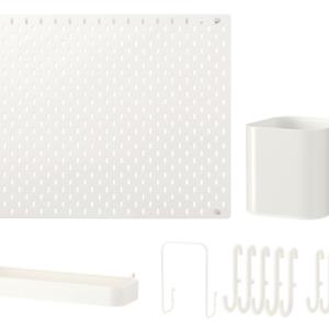 SKADIS Pegboard Combination 56 x 56cm (White)