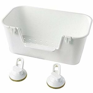 STUGVIK Basket with Suction Cup (White)