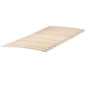 LURÖY Slatted Base King Size Bed 90x200cm (2 Pieces)