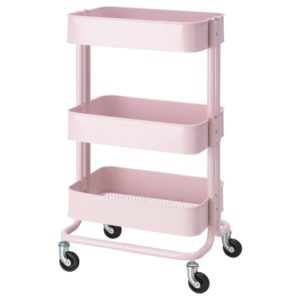 RASKOG Trolley (Light Pink)