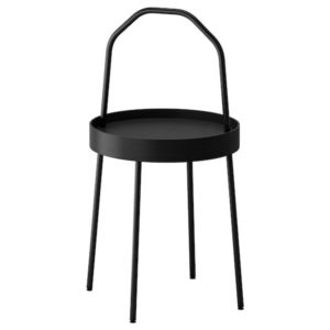 BURVIK Side Table (Black)